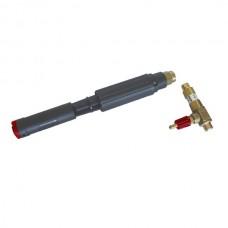 PA Profesionální pěnovací pistole LS12 RED 1,25 s přisávacím ventilem - průtok vody 11-15l/min
