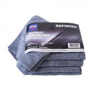 CARTEC REFINISH ANTHRACITE Buffing Towel 40 x 40cm Ultra Soft sada 5 ks buffovacích mikrovláken na vodní spoty
