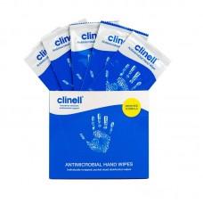 CLINELL Hand Wipe bezalkoholový dezinfekční textilní ubrousek