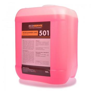 501  ECOCLEANER 10 l parfemovaný koncentrovaný čistič podlah
