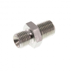 IDROBASE Tlakové šroubení spojka G 1/4 M - 1/4 M, max. 300 barů
