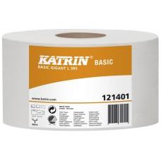 KATRIN TOALETNÍ PAPÍR JUMBO KATRIN Basic Gigant L385 121401 6rolí/balení