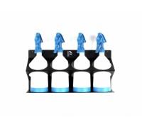 POKA PREMIUM Bottle Holder WOD Držák na zeď nebo vozík na 4 láhve do 1,5 l