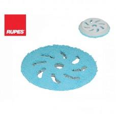 RUPES MICROFIBRE PAD 170 mm Coarse Cuttovací mikrovláknový modrý pad