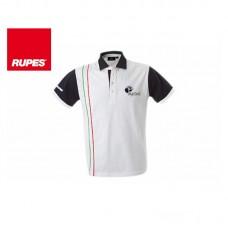 Tričko Polo RUPES BigFoot Italy - bílé