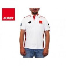 Tričko Polo bílé RUPES BigFoot Racing - bílé