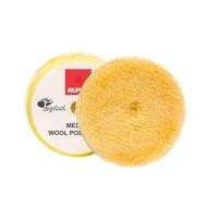 RUPES WOOL PAD Fine 100 mm vlněný žlutý