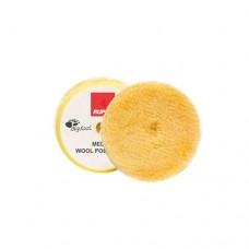 RUPES WOOL PAD Fine 70 mm vlněný žlutý