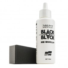 SOFT99 Black Black 110 ml - keramická ochrana pneumatik