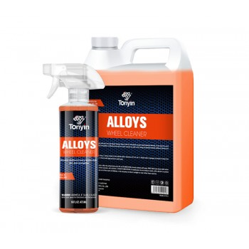 TONYIN Alloys Wheel Cleaner 473 ml Čistič disků s rozprašovačem na hliníková a chromovaná kola