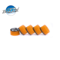 ZviZZer Mini Pad Orange Medium Cut 15 mm středně hrubý sada 5ks